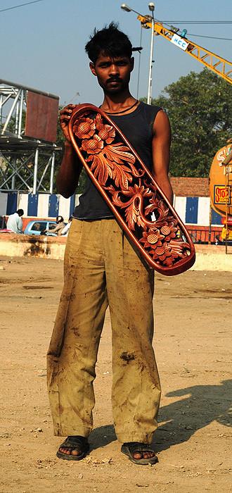 Изображение 9. Резные скейты из Мумбаи.. Изображение № 5.