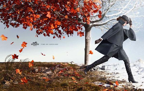 Волшебная рекламная кампания Hermès осень-зима 2012. Изображение № 2.