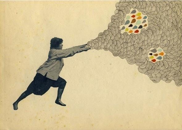 Клей, ножницы, бумага: 10 современных художников-коллажистов. Изображение № 51.