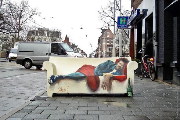 Стрит-арт и граффити Амстердама, Нидерланды. Изображение № 28.