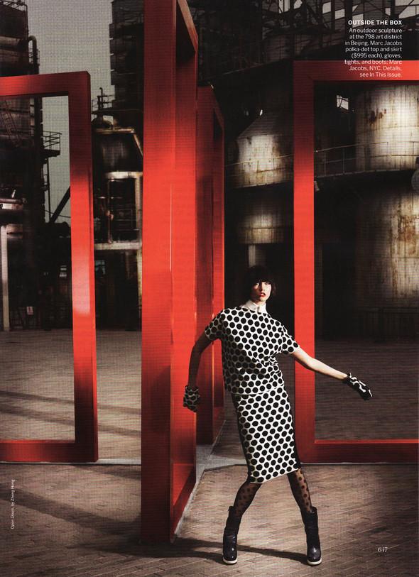 Съёмка: Карли Клосс в объективе Марио Тестино. Изображение № 8.