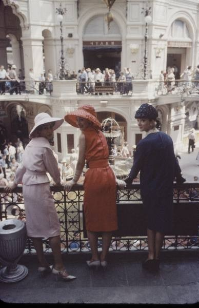 Dior in Moscow, 1959 год. Изображение № 8.