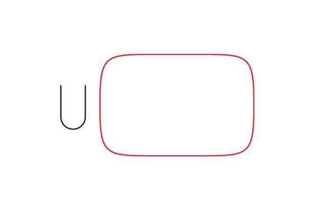 Логотипы популярных брендов перерисовали тонкими линиями. Изображение № 1.
