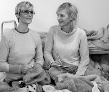 Gudrun и Gudrun прекрасные основательницы самого уютного и экологического бренда Скандинавии G&G. Фарерские острова (Дания). Изображение № 1.