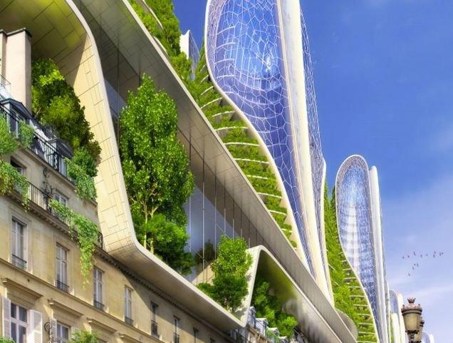 Концепт: экологически безопасный Париж. Изображение № 7.