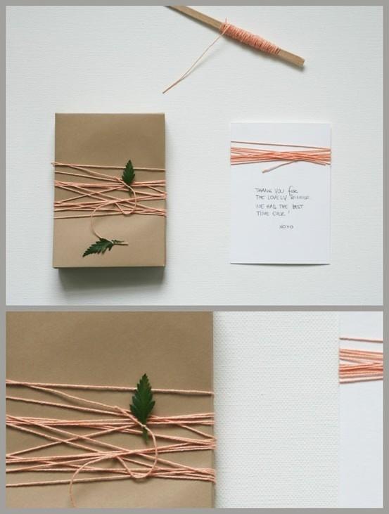 55 идей для упаковки новогодних подарков. Изображение № 93.