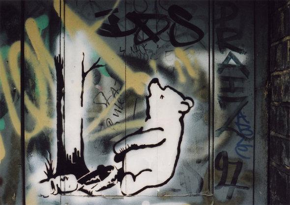Изображение 35. Banksy (уличная мышь – герой).. Изображение № 35.
