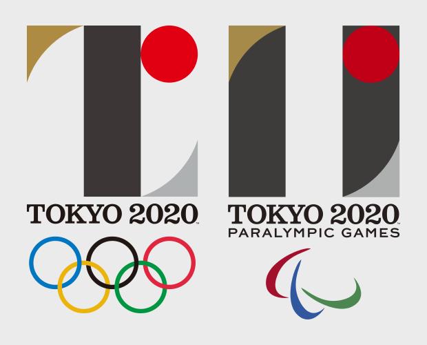 Слева — первый логотип Летних Олимпийских игр в Токио, справа — первый логотип Летних Паралимпийских игр в Токио . Изображение № 15.