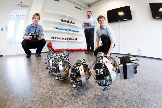 На Марс собираются послать роботов-змей. Изображение № 1.