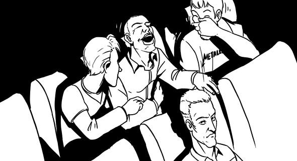 Изображение 3. Как вести себя в кино: Десять правил хорошего тона.. Изображение № 4.