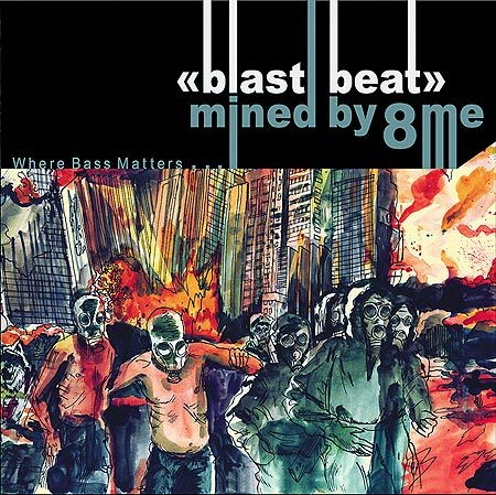 Граймдабстеп сборка VA– Blast Beat Mined By8me. Изображение № 1.