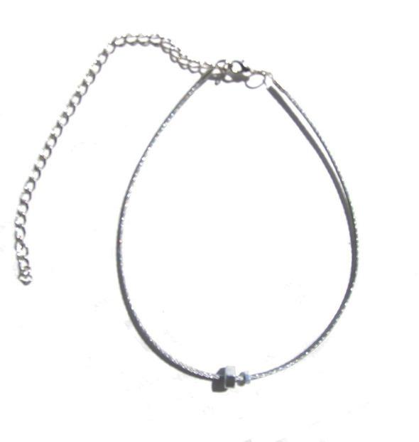 Ожерелья из цепей гаек и сантехнического шнура. Часть1. Изображение № 6.