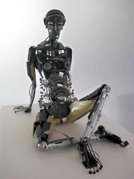Джереми Майер- скульптуры изпишущих машинок. Изображение № 1.
