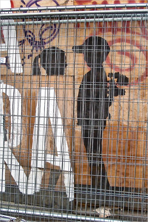 Стрит-арт и граффити Амстердама, Нидерланды. Изображение № 14.