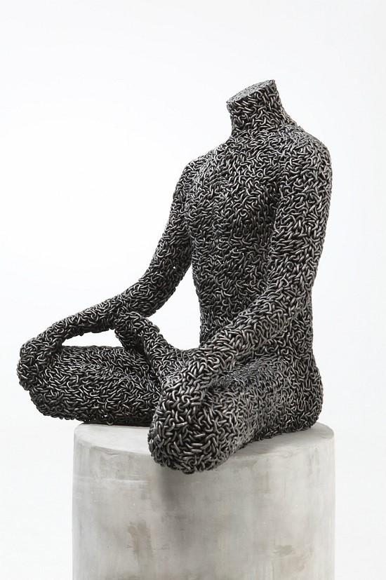 Скульптуры из цепей от Yeong-Deok Seo. Изображение № 15.