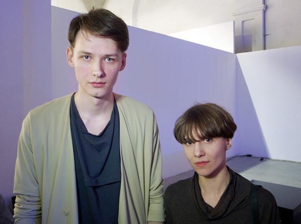 Дизайнер Анна Сосновская и бренд-менеджер марки Sosnovska Виталий Чилека. Изображение № 19.