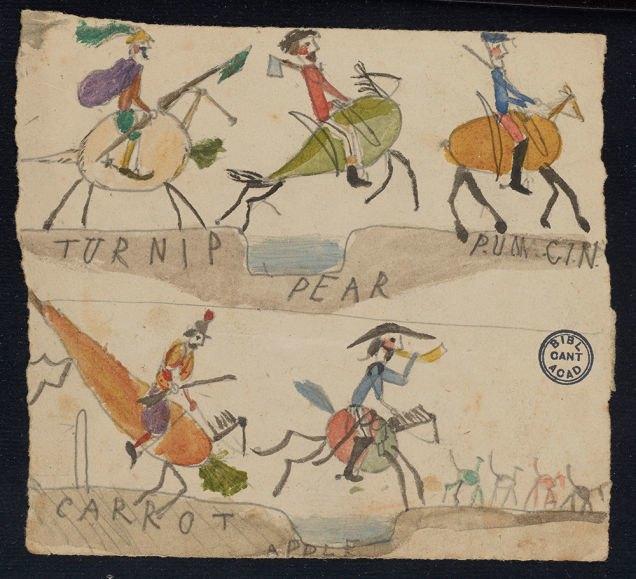 Фото: рисунки детей Дарвина на страницах «Происхождения видов». Изображение № 7.