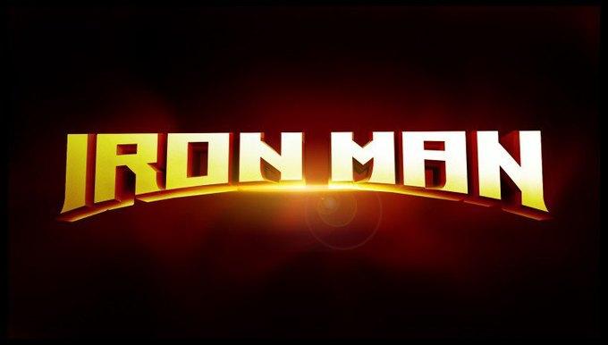 Художник показал варианты логотипа «Железного человека» . Изображение № 8.