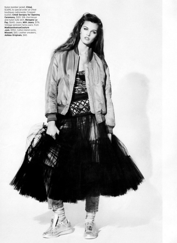 Съёмка: Али Стивенс для Elle. Изображение № 11.