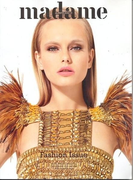 Коллекция Gucci SS 2011 появилась на 50 обложках журналов. Изображение № 12.