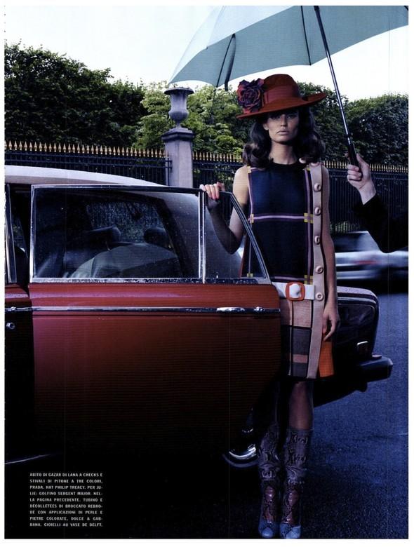 Съёмка: Бьянка Балти для итальянского Vogue. Изображение № 13.