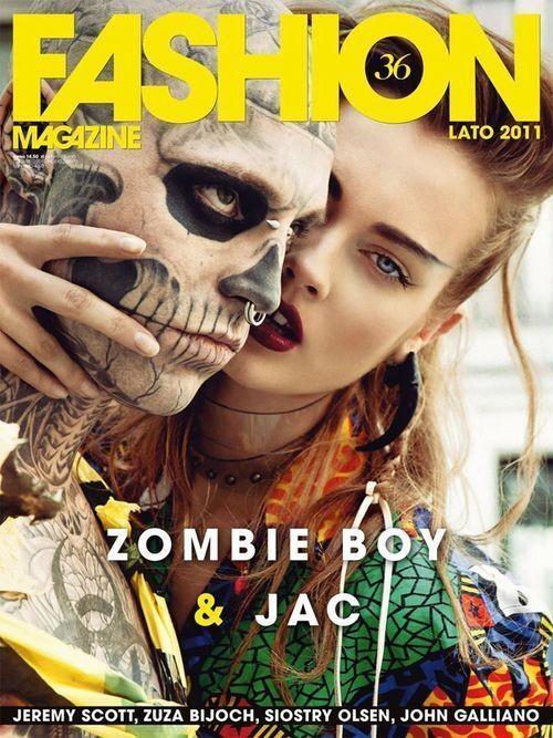 Изображение 1. Обложки: Acne Paper, L'Uomo Vogue, Visionaire и другие.. Изображение № 3.