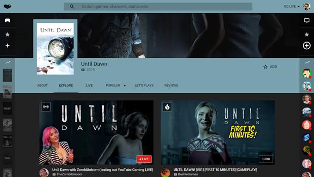 YouTube запустил свой сервис длястриминга игр. Изображение № 5.