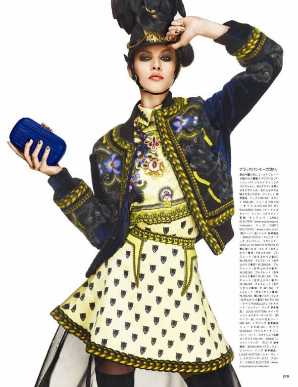 Съёмка: Эмелин Валад для Vogue. Изображение № 3.