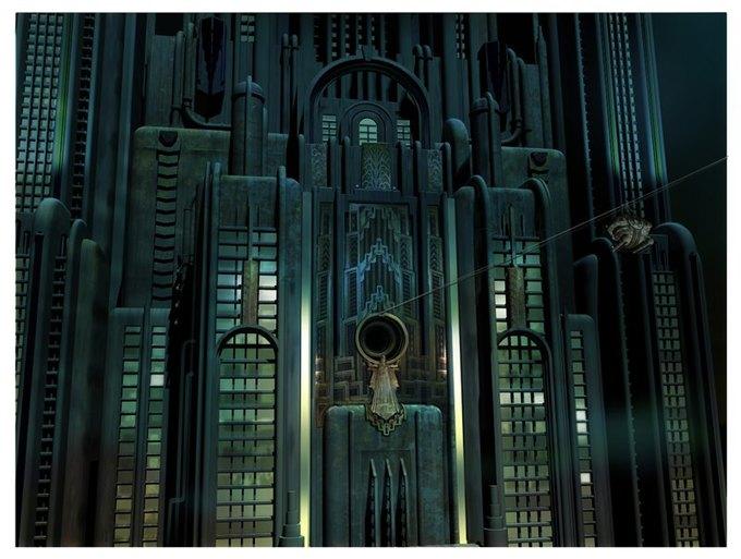Опубликованы концепт-арты экранизации Bioshock. Изображение № 15.