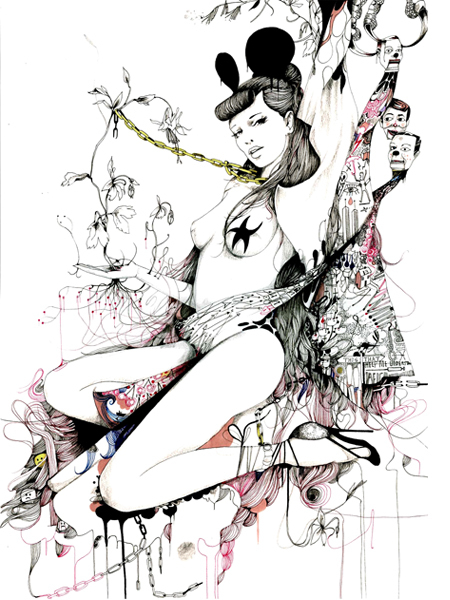 Иллюстрации Дэйвида Брэя грация исексуальный подтекст. Изображение № 4.