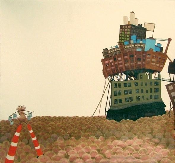 Города сточки зрения иллюстратора ЭмиКэйси. Изображение № 6.