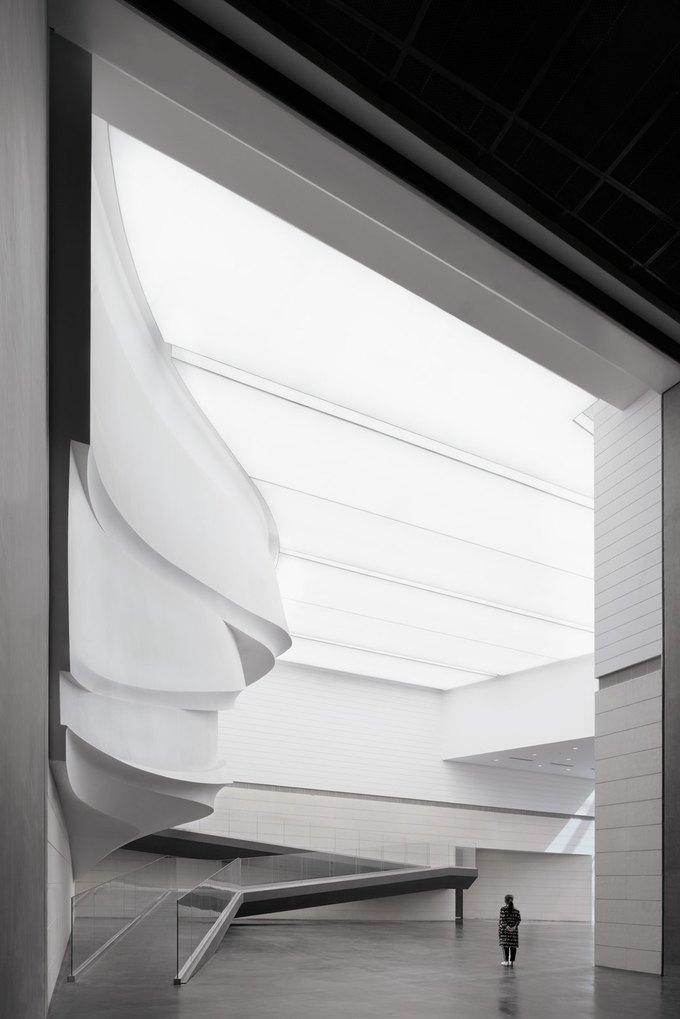Архитектура дня: музей в Китае сбелым «слоёным» фасадом. Изображение № 11.