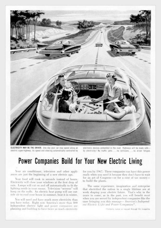 Как представляли  автомобиль будущего  в 1957-м. Изображение № 2.
