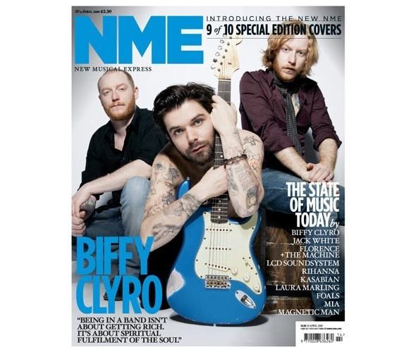 Новый дизайн и десять обложек NME. Изображение № 11.