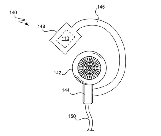 Apple запатентовала смарт-наушники для занятий спортом . Изображение № 3.