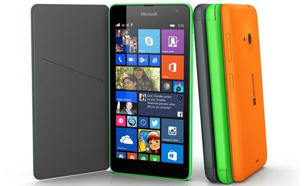 Microsoft показала первый смартфон без брендинга Nokia. Изображение № 1.