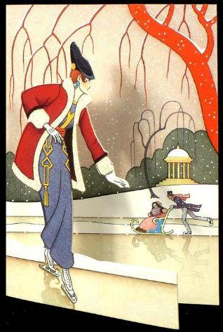 Новогодние fashion cards. Изображение № 26.