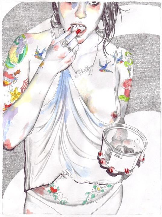 Иллюстратор Esra Roise. Изображение № 33.