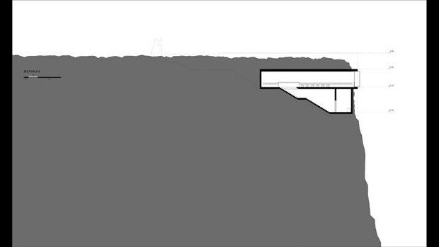Архитектура дня: концепт церкви-креста на отвесной скале. Изображение № 14.