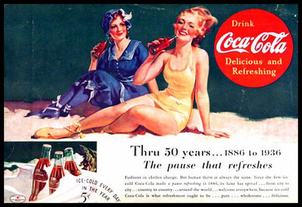 Изображение 15. Coca-cola – История бренда, история рекламы.. Изображение № 15.