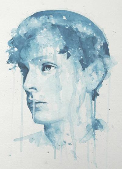 Акварельные портреты Молли Брилл. Изображение № 4.