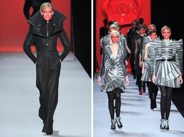 Изображение 11. Показы на Paris Fashion Week FW 2011: день 5 и 6.. Изображение № 40.
