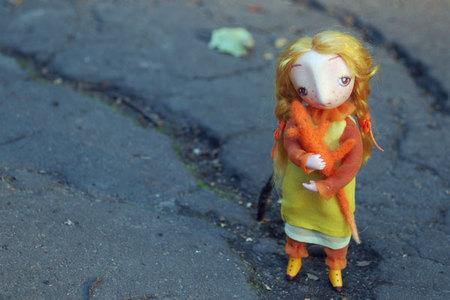 Настоящая девочка иеё куклы. Изображение № 8.