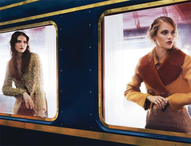 Новые съемки Dazed & Confused, Vogue, Pop и Madame Figaro. Изображение № 21.
