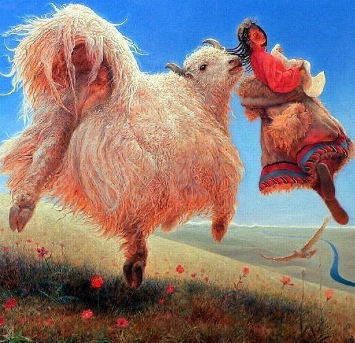 Wang Yi Guang. Feitain, или летающий пух. Изображение № 24.