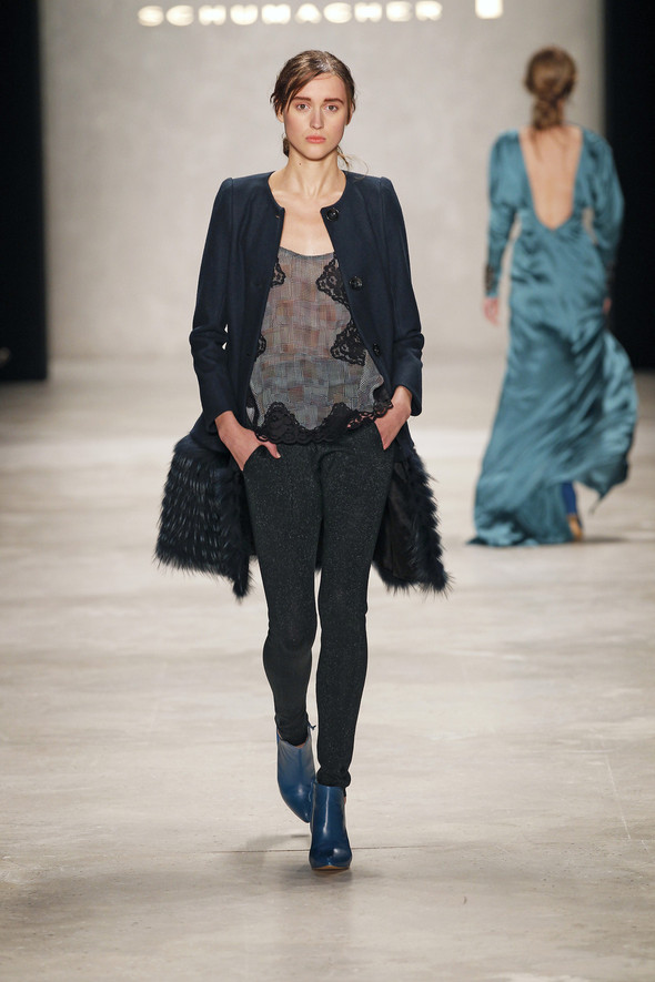 Berlin Fashion Week A/W 2012: Schumacher. Изображение № 36.