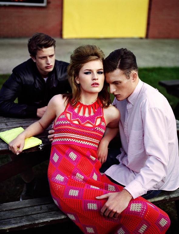 Съёмка: Молли Смит в Dior для Wonderland. Изображение № 5.
