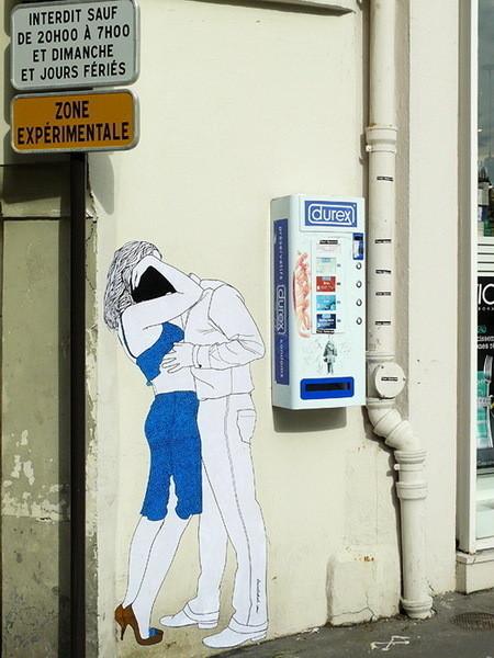Изображение 1. Близость на улице Claire Streetart.. Изображение № 1.