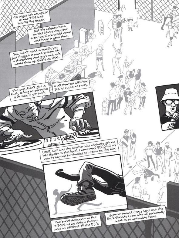 Комиксы легенды хип-хопа. Изображение № 18.