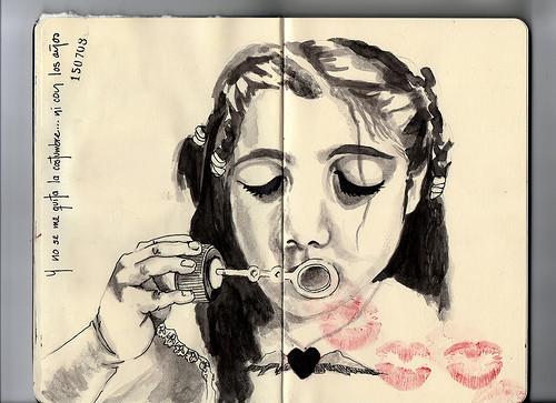 Мексиканская художница ERIKA KUHN. Изображение № 8.